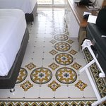 Nice tile floor in our room B7-211