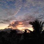 tramonto dall hotel
