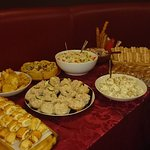 Great buffet menu available along with private hire