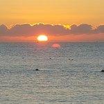 El amanecer muy hermoso. (Beautiful sunrise!)