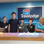 the staff at the travelodge fantastic people and friendly /very helpful