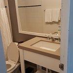 bathroom -simple but adequate