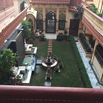 Another balcony view of the courtyard.