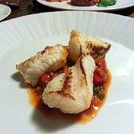 Monkfish & tomato...