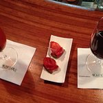 Aperol spritz and Rioja