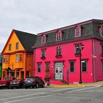 Multi-collored buildings in Lunenburg