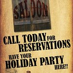 Reservations for Holiday parties and every night dinner plans. Call today!