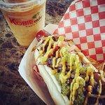 Customized hot dog