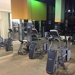 Great equipment in gym