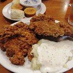 $9.99 fried chicken breast lunch