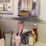 Mmmm...strawberry milkshake