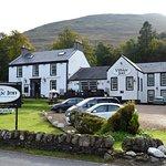 The Village Inn is alongside Loch Long
