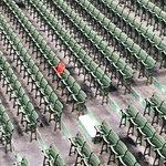 Red seat...homerun hit more than 500 feet