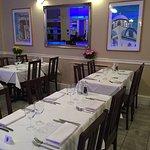 Dining area taste of Cyprus bar