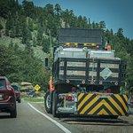 Peak To Peak Traffic Jam in June