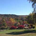 Beautiful fall views at the Windham Hill Inn