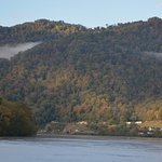 Now the Kanawha and town of Glen Feris