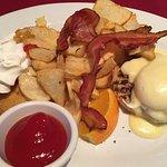 Laurier breakfast plate.