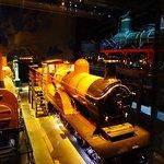 La salle des locomotives à vapeur