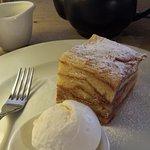 Almond Croissant Bread Pudding.