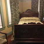 Check out the carving in the bed headboard and footboard