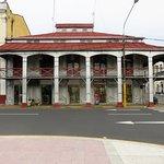Casa de Fierro from Plaza de Armas