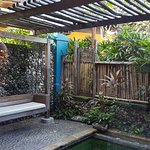 Private pool and garden Room 109