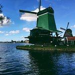 Zdjęcie Sieć Młynów w Kinderdijk-Elshout