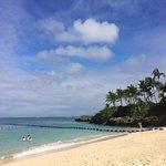 サラッサラの砂で気持ちいビーチ