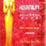 "Award for ""Best Wedding Hotel"" by India HospitalityAwards"