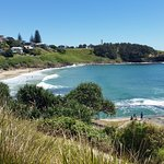 Beautiful Yamba beach .. 10-15 min walk from hotel :)