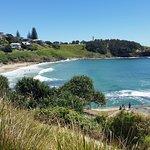 Beautiful Yamba beach .. 10-15 min walk from hotel :)
