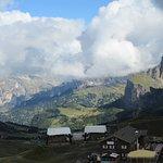 Blick vom Col Rodella (Hausberg von Capitello di Fassa)