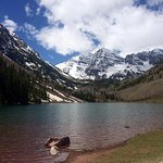 Maroon Bells in June