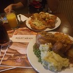 Carvery Turkey below the other goodies