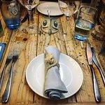 Tanroagan table setting