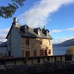 Large holiday house on the shores of Loch Carron with amazing views