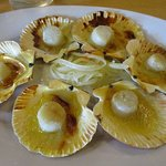 Baked Scallops for P150