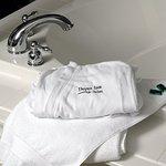 Hot Tub with Depot Inn bathrob