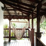 Private hammocks in most villas