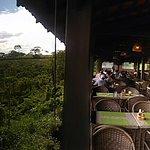 A vista da chapada do restaurante é lindíssima!