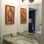 Sink with granite countertops in all rooms. Shower/bathtub combo in Park View and Ocean View Roo