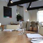 dining room at La Bocca