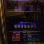 Ref. water, yogurt, eggs, milk