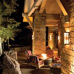 Outdoor firepits - summer time