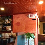 Clean attractive interior at Panda Chinese Restaurant and Sushi Bar in Fredericksburg Tx.