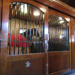 Another beautiful Clydesdale - lovely stable