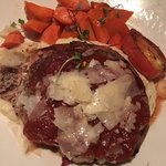 Meatloaf with carrots