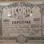 "Guinness Book of Records ""diplome"""