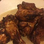 Big smoked juicy chicken wings